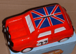 Car Money Box Red Classic Union Jack Mini Ceramic Novelty Collectable Moneybox Piggy Bank Coin Vehicle